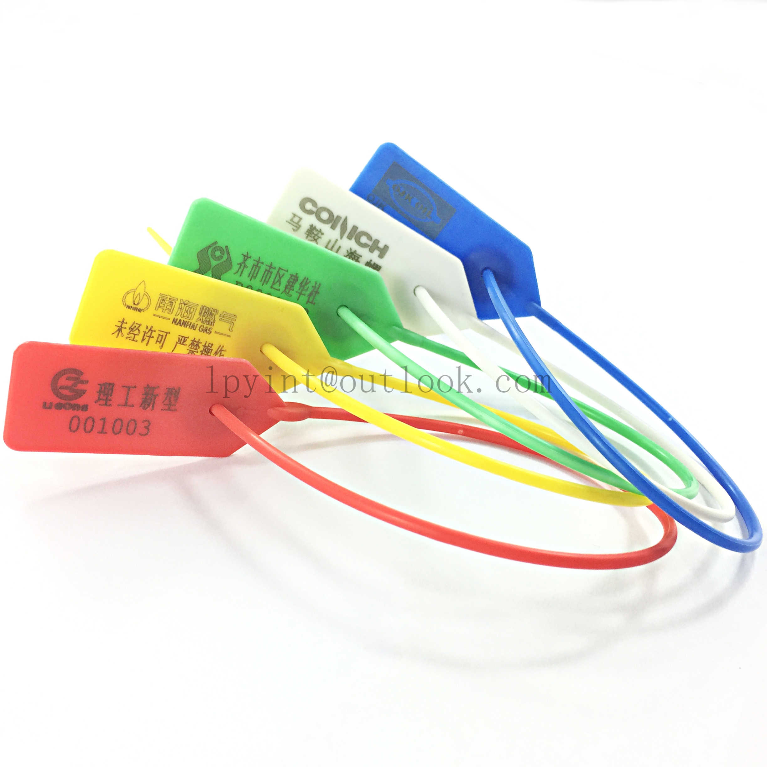 Plastic Security Ties